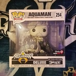 ☆DC COLLECTION BY JIM LEE☆AQUAMAN FUNKO POP☆